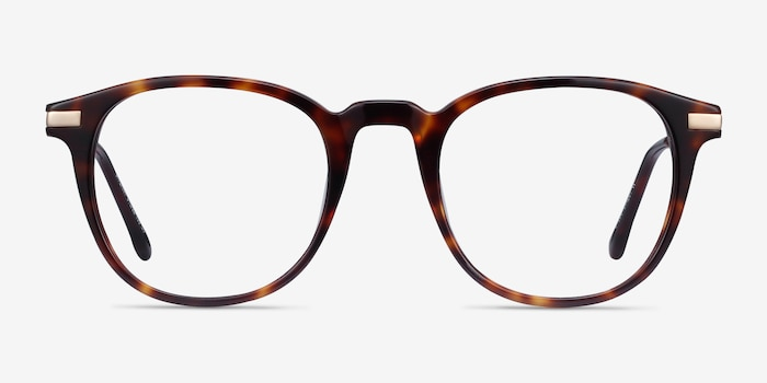 Giverny Tortoise Acetate-metal Eyeglass Frames from EyeBuyDirect, Front View