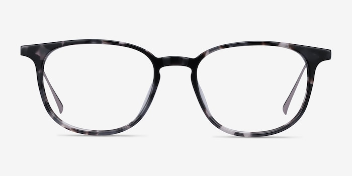 Ballad Tortoise Acetate Eyeglass Frames from EyeBuyDirect, Front View