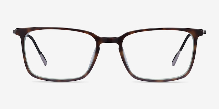Cameron Tortoise Acetate Eyeglass Frames from EyeBuyDirect, Front View