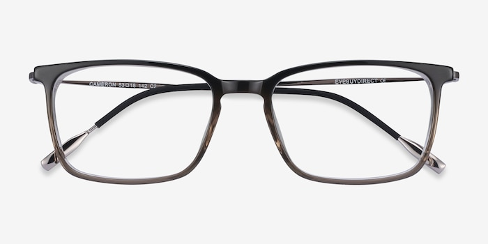 Cameron Brown Metal Eyeglass Frames from EyeBuyDirect, Closed View