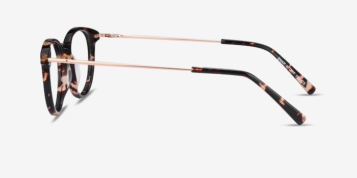 Snap Tortoise Acetate Eyeglass Frames from EyeBuyDirect, Side View