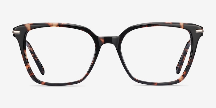 Dearly Tortoise Acetate-metal Eyeglass Frames from EyeBuyDirect, Front View