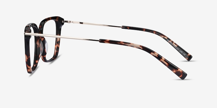 Dearly Tortoise Acetate-metal Eyeglass Frames from EyeBuyDirect, Side View
