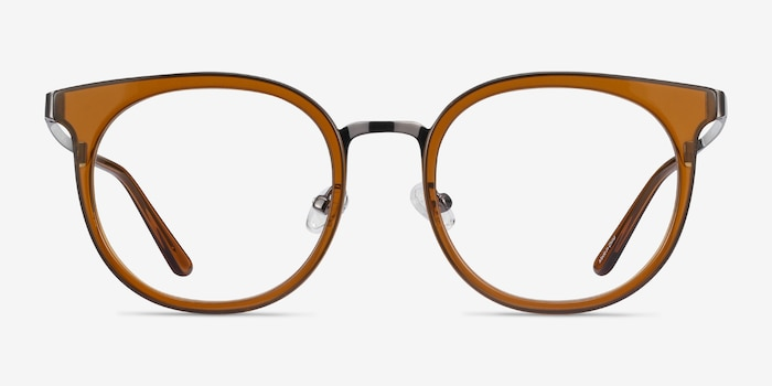 Murphy Brown Acetate Eyeglass Frames from EyeBuyDirect, Front View