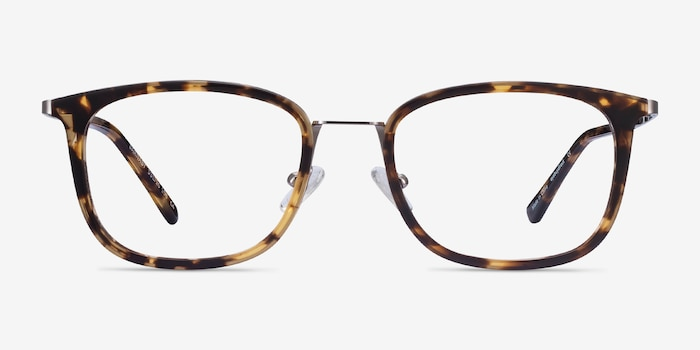 Barnaby Tortoise Acetate-metal Eyeglass Frames from EyeBuyDirect, Front View