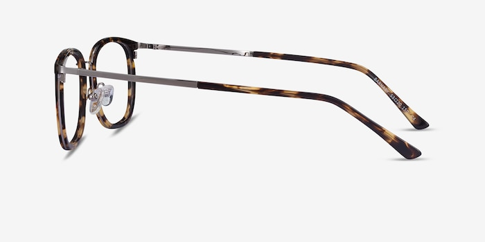 Barnaby Tortoise Acetate-metal Eyeglass Frames from EyeBuyDirect, Side View