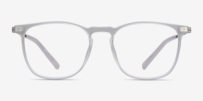 Avery Clear Plastic-metal Eyeglass Frames from EyeBuyDirect, Front View