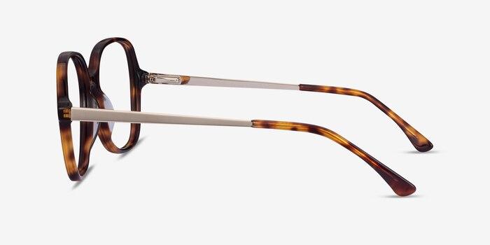 Corey Tortoise Acetate-metal Eyeglass Frames from EyeBuyDirect, Side View