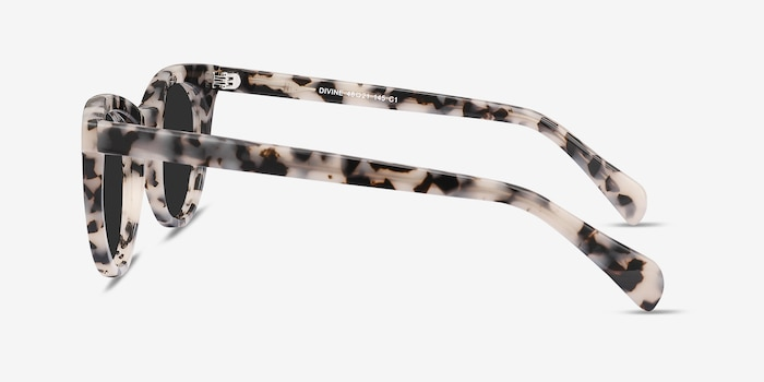Divine Gray/Tortoise Acetate Sunglass Frames from EyeBuyDirect, Side View