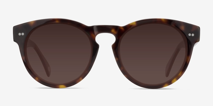 Penelope Brown/Tortoise Acetate Sunglass Frames from EyeBuyDirect, Front View