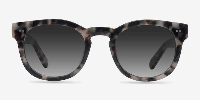Horizon Marbled Tortoise Acetate Sunglass Frames from EyeBuyDirect, Front View