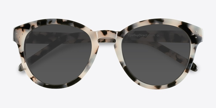 Augustine  Ivory Tortoise  Acetate Sunglass Frames from EyeBuyDirect, Closed View