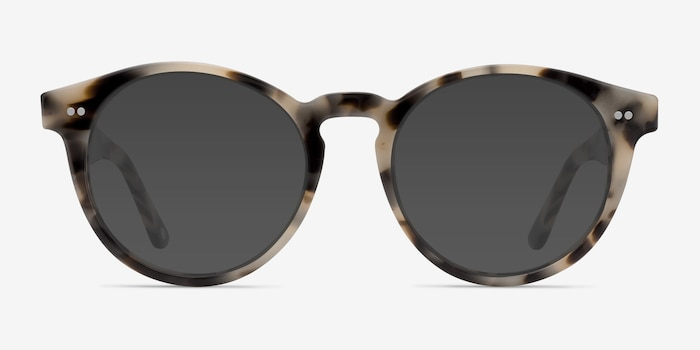 Havana Ivory Tortoise Acetate Sunglass Frames from EyeBuyDirect, Front View