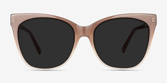 88e60829f3 Vamp Brown Acetate Sunglass Frames from EyeBuyDirect