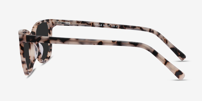 Halle Tortoise Acetate Sunglass Frames from EyeBuyDirect, Side View