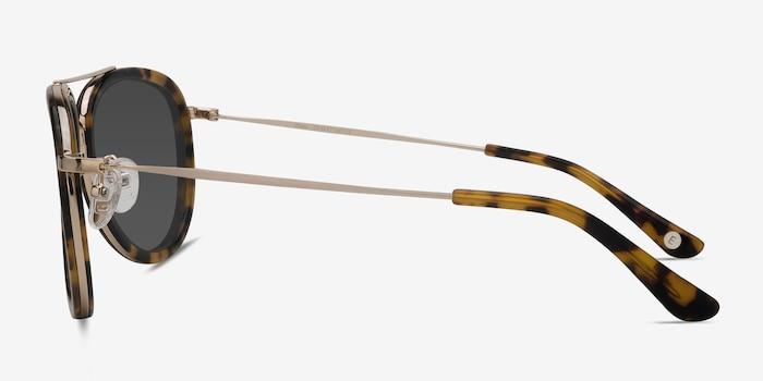 Duke Tortoise Acetate Sunglass Frames from EyeBuyDirect, Side View