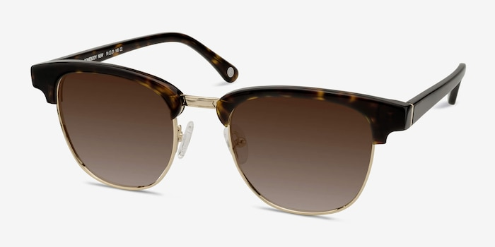 Somebody New Tortoise Acetate Sunglass Frames from EyeBuyDirect, Angle View