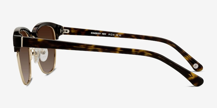 Somebody New Tortoise Acetate Sunglass Frames from EyeBuyDirect, Side View