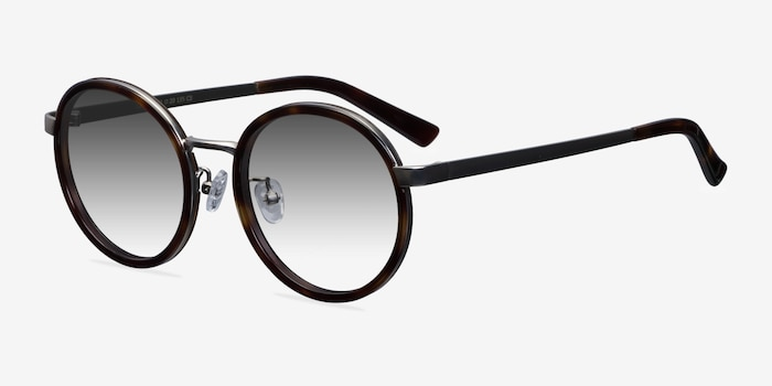 Lady Bird Tortoise Acetate Sunglass Frames from EyeBuyDirect, Angle View