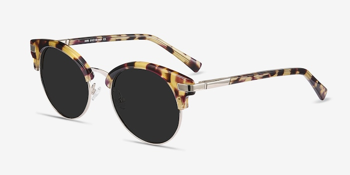 Kiri Tortoise Acetate Sunglass Frames from EyeBuyDirect, Angle View