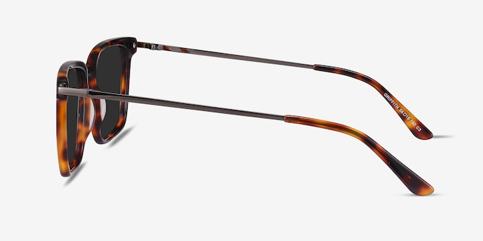 Griffith Tortoise Metal Sunglass Frames from EyeBuyDirect, Side View