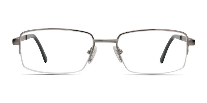 Axis Gunmetal Metal Eyeglass Frames from EyeBuyDirect
