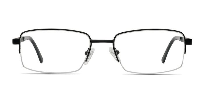 Axis Black Metal Eyeglass Frames from EyeBuyDirect