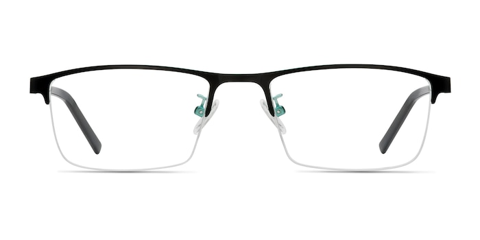 Algorithm Black Metal Eyeglass Frames from EyeBuyDirect
