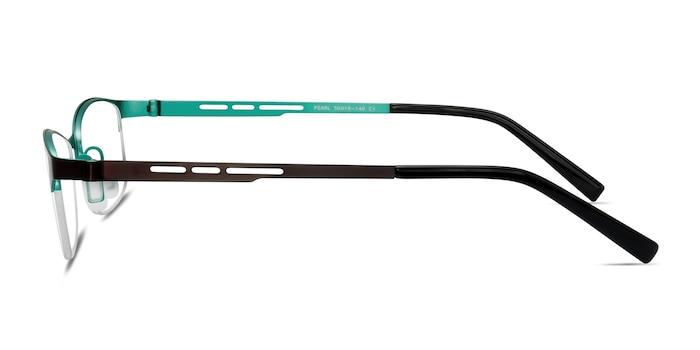 Pearl Black Metal Eyeglass Frames from EyeBuyDirect