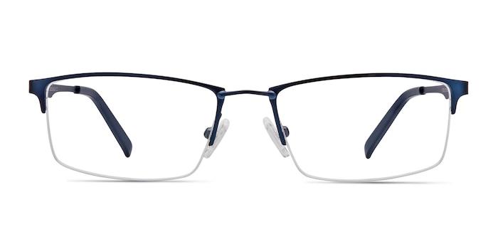 Furox Navy Metal Eyeglass Frames from EyeBuyDirect