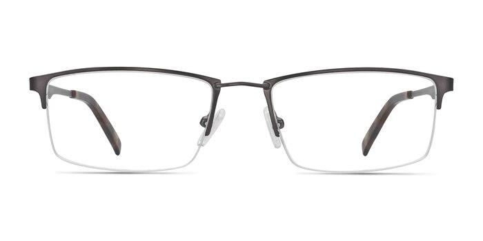 Furox Gunmetal Metal Eyeglass Frames from EyeBuyDirect