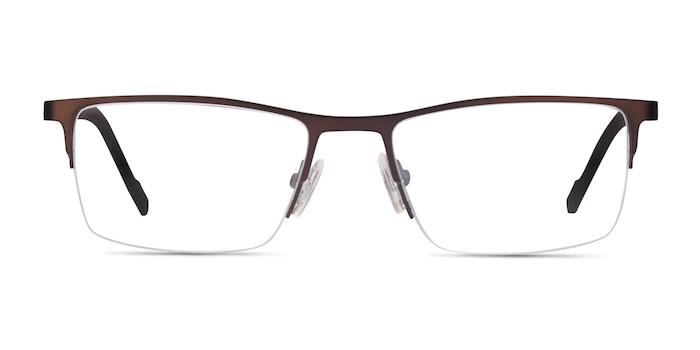 Variable Brown Metal Eyeglass Frames from EyeBuyDirect