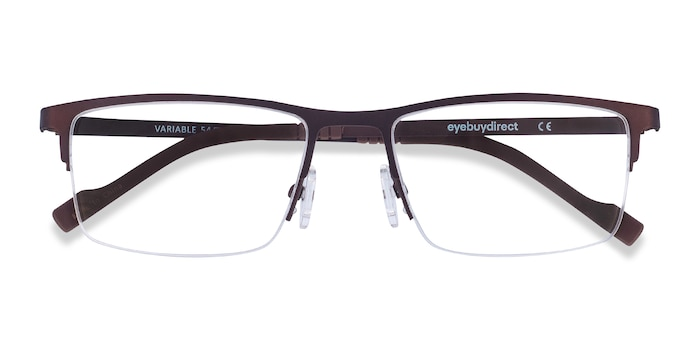 Brown Variable -  Lightweight Metal Eyeglasses