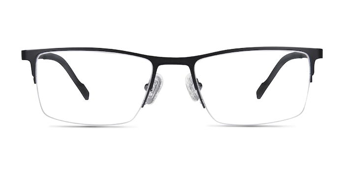 Variable Black Metal Eyeglass Frames from EyeBuyDirect