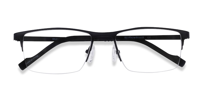 Black Variable -  Lightweight Metal Eyeglasses