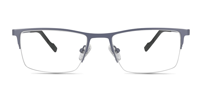 Variable Gray Metal Eyeglass Frames from EyeBuyDirect
