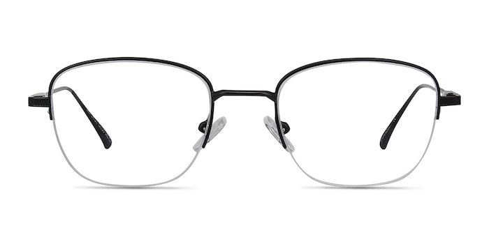 Navigator Black Metal Eyeglass Frames from EyeBuyDirect