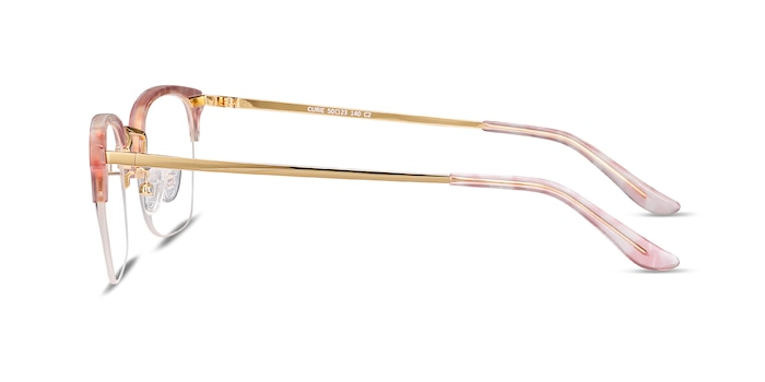 Curie Pink Acetate-metal Eyeglass Frames from EyeBuyDirect