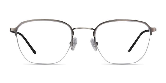 Enya Gunmetal Metal Eyeglass Frames from EyeBuyDirect