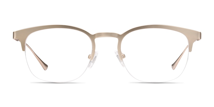 Hemisphere Rose Gold Metal Eyeglass Frames from EyeBuyDirect