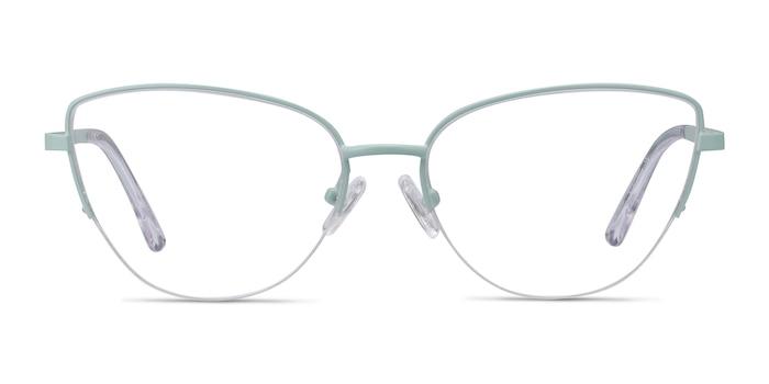 Star Mint Metal Eyeglass Frames from EyeBuyDirect