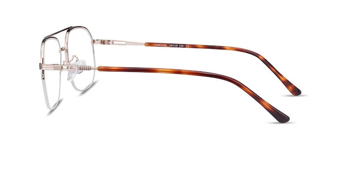 Carlson Gold Acetate-metal Eyeglass Frames from EyeBuyDirect
