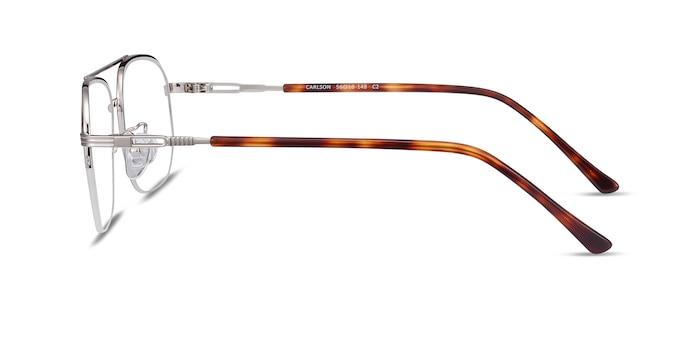 Carlson Silver Acetate-metal Eyeglass Frames from EyeBuyDirect