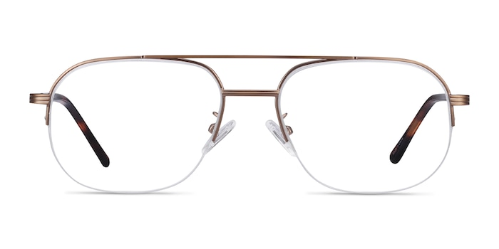 Carlson Bronze Acetate-metal Eyeglass Frames from EyeBuyDirect