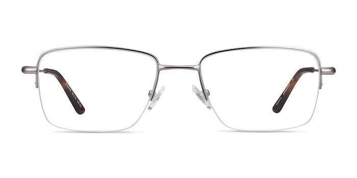 Dominic Gunmetal Metal Eyeglass Frames from EyeBuyDirect