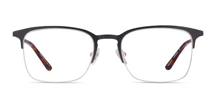 Owen Black Metal Eyeglass Frames from EyeBuyDirect