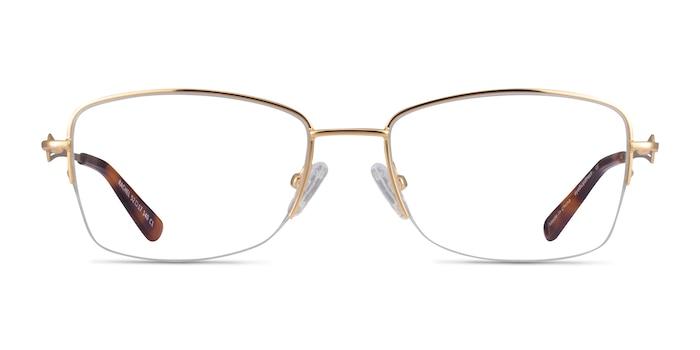 Rachel Gold Metal Eyeglass Frames from EyeBuyDirect