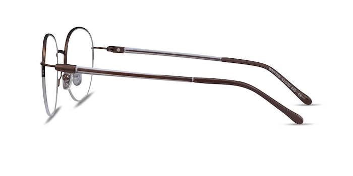 Written Bronze Metal Eyeglass Frames from EyeBuyDirect