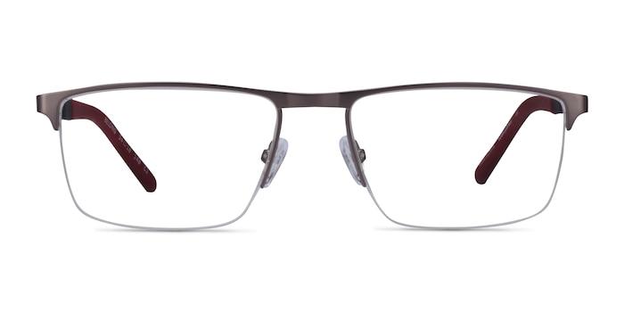 Belong Silver Carbon-fiber Eyeglass Frames from EyeBuyDirect