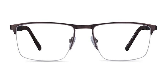 Belong Gunmetal Carbon-fiber Eyeglass Frames from EyeBuyDirect